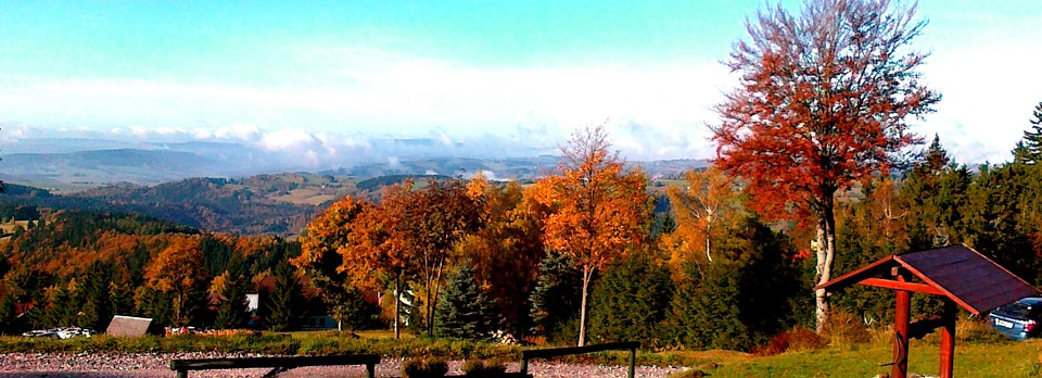 Autumn panoramic views